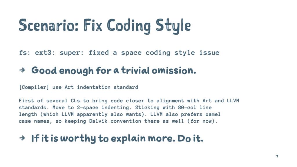 Scenario: Fix Coding Style fs: ext3: super: fix...