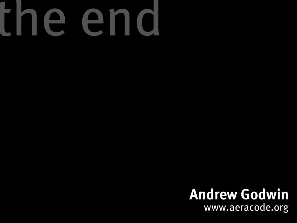 Andrew Godwin www.aeracode.org