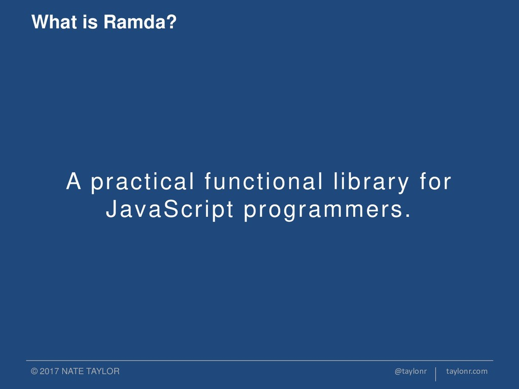 A practical functional library for JavaScript p...