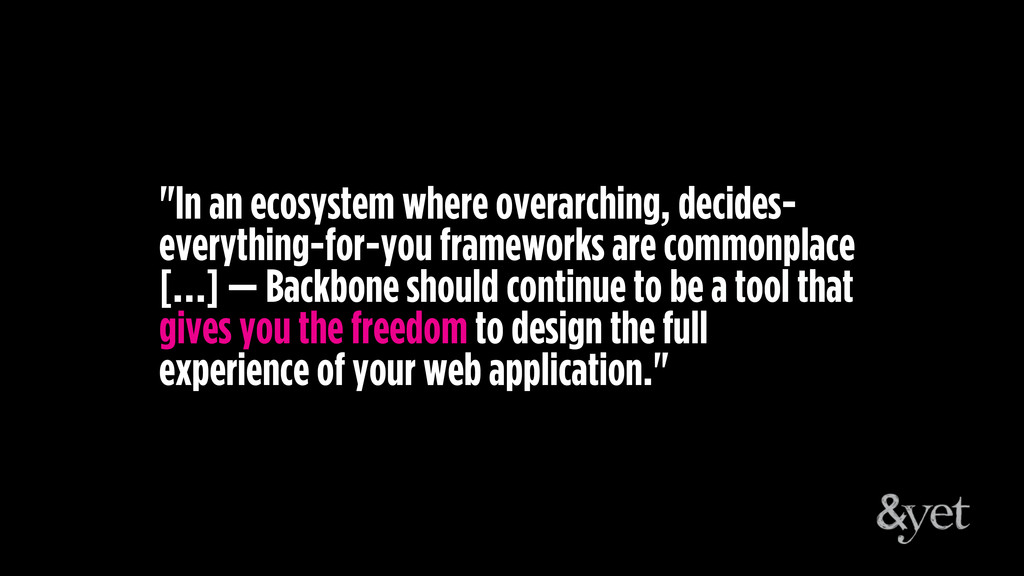 """""""In an ecosystem where overarching, decides- ev..."""