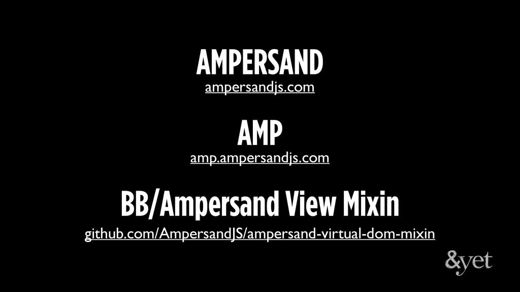 amp.ampersandjs.com AMP ampersandjs.com AMPERSA...