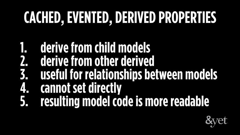 1. derive from child models 2. derive from othe...