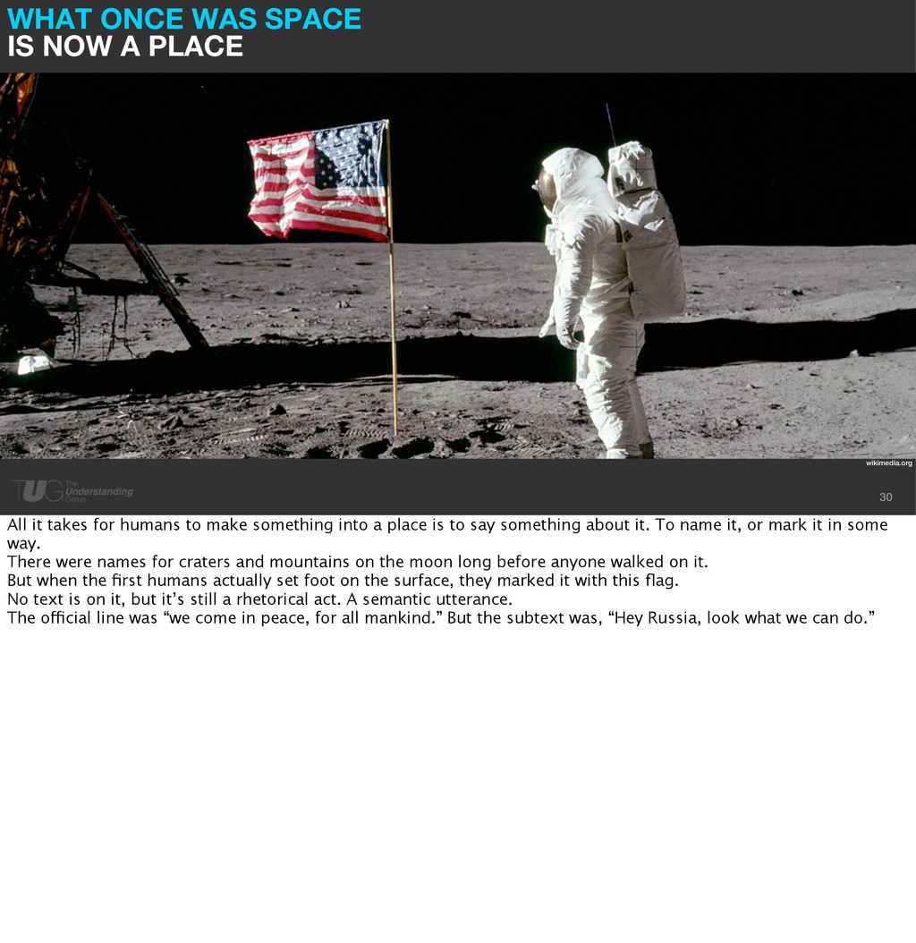 WHAT ONCE WAS SPACE IS NOW A PLACE 30 wikimedia...
