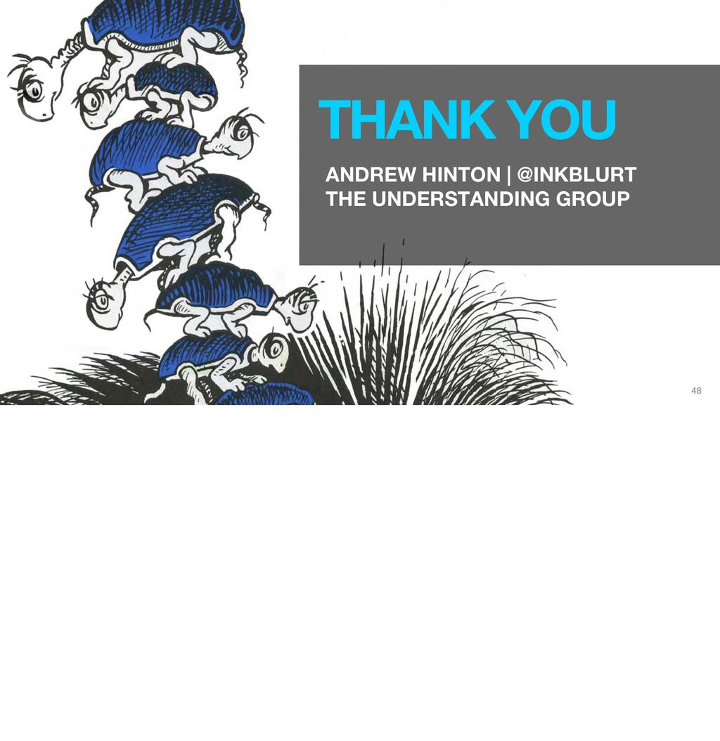 48 THANK YOU ANDREW HINTON | @INKBLURT THE UNDE...