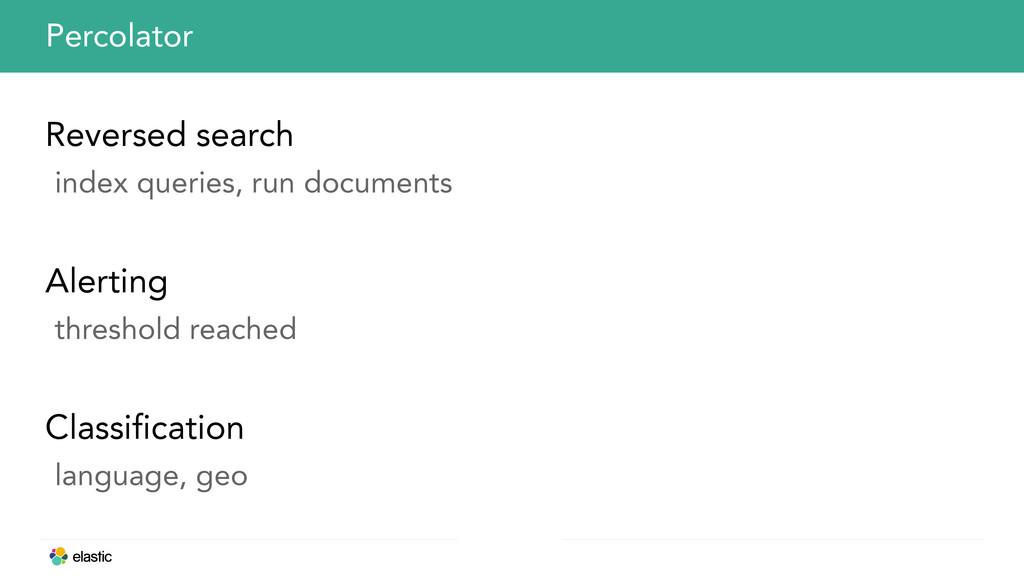 Reversed search index queries, run documents Al...