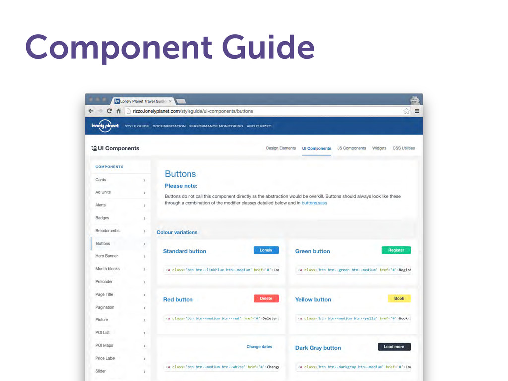 Component Guide