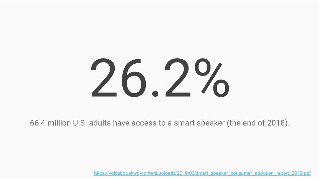 26.2% 66.4 million U.S. adults have access to a...