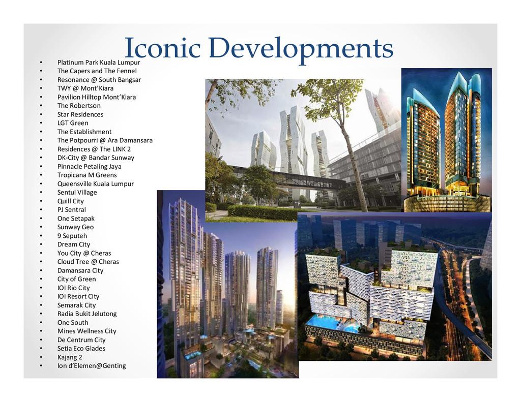 Iconic Developments • Platinum Park Kuala Lumpu...