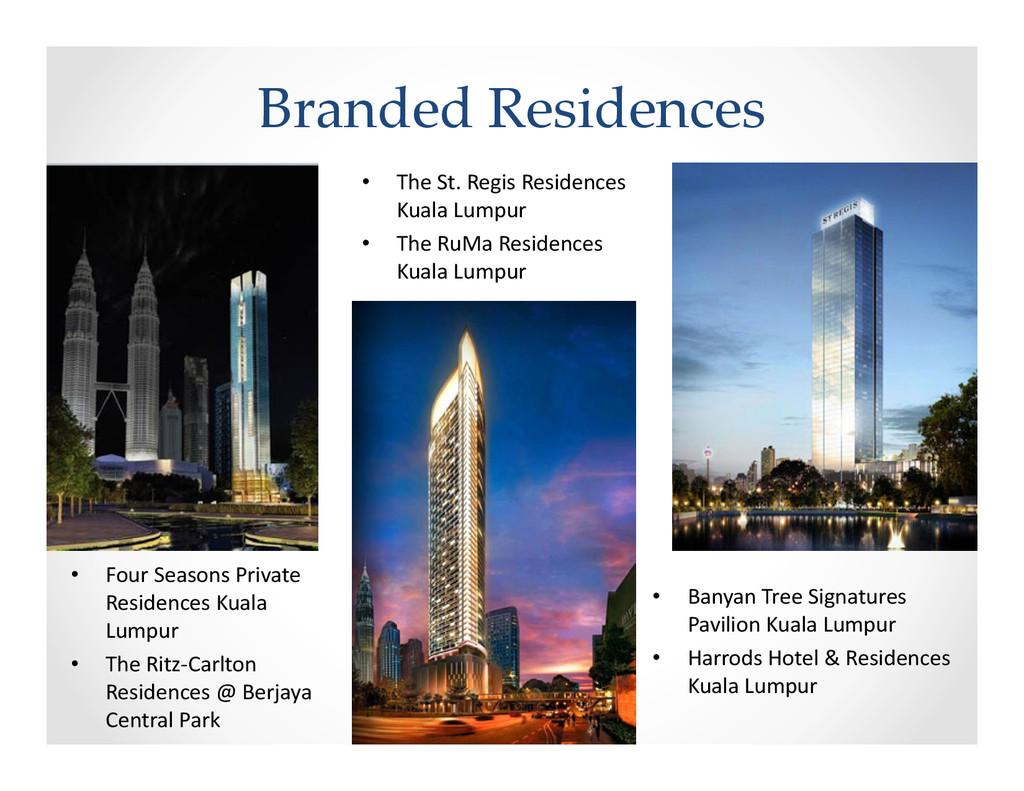 Branded Residences • The St. Regis Residences K...
