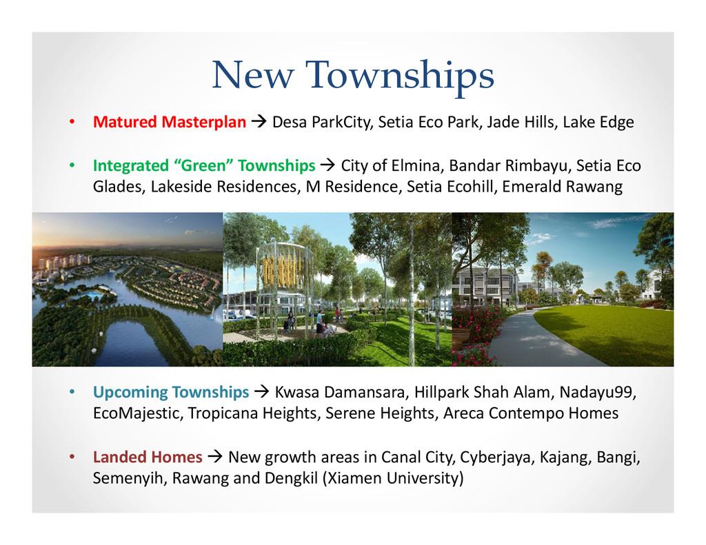 New Townships • Matured Masterplan Desa ParkCit...