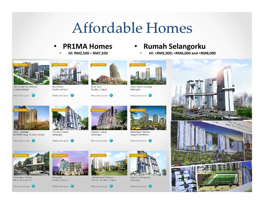 Affordable Homes • PR1MA Homes • Rumah Selangor...