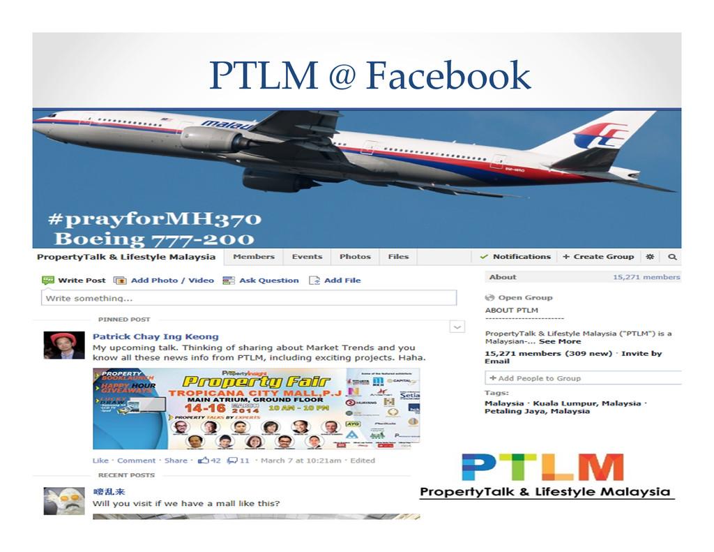 PTLM @ Facebook