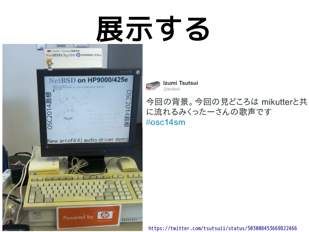 展示する https://twitter.com/tsutsuii/status/503008...