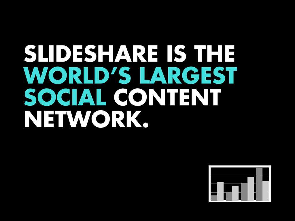 SLIDESHARE IS THE WORLD'S LARGEST SOCIAL CONTEN...