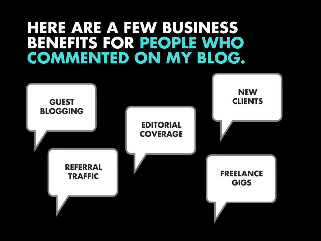 HERE ARE A FEW BUSINESS BENEFITS FOR PEOPLE WHO...