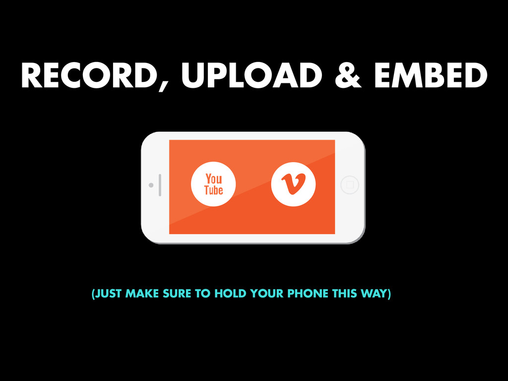 RECORD, UPLOAD & EMBED v x (JUST MAKE SURE TO H...