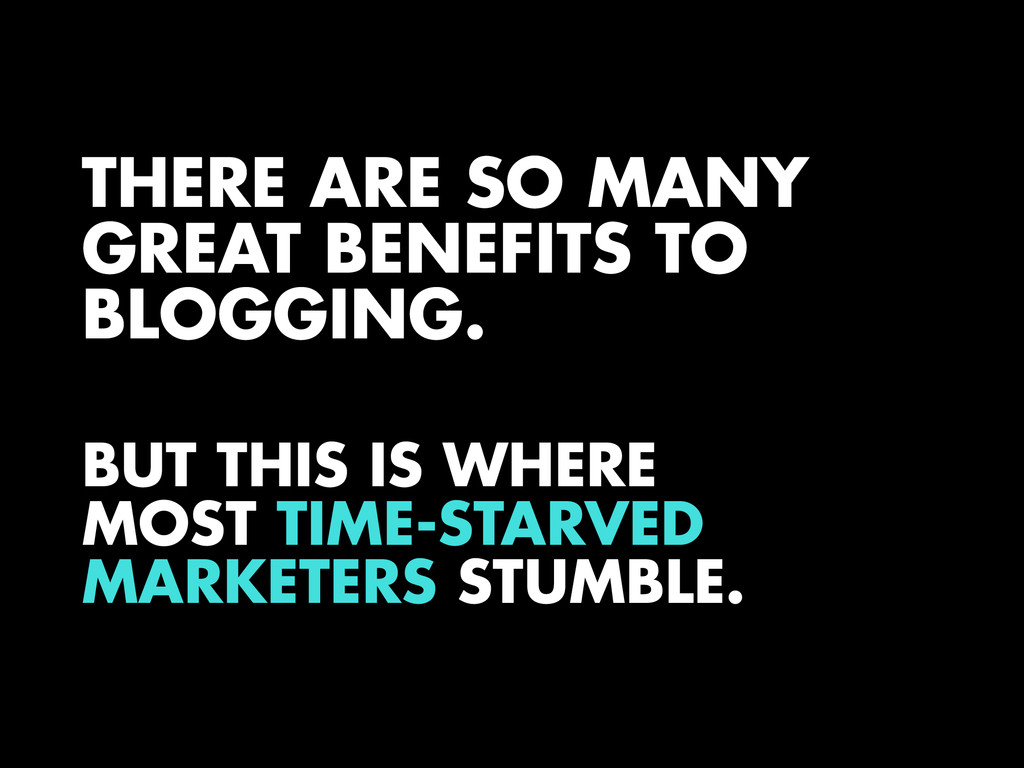 THERE ARE SO MANY GREAT BENEFITS TO BLOGGING. B...