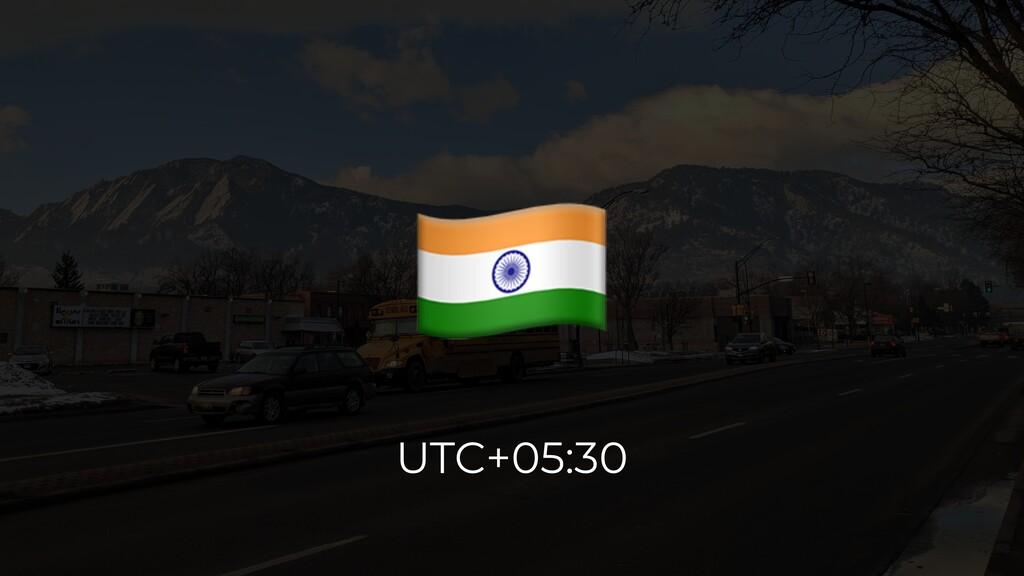 # UTC+05:30