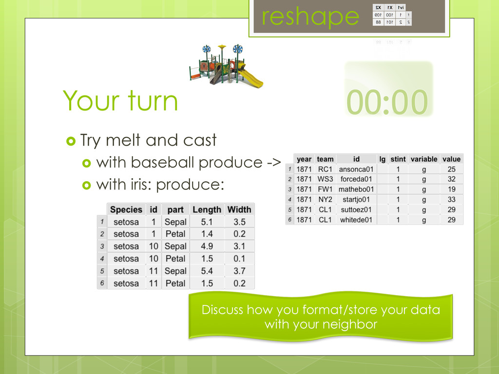 Your turn ›  Try melt and cast ›  with baseba...
