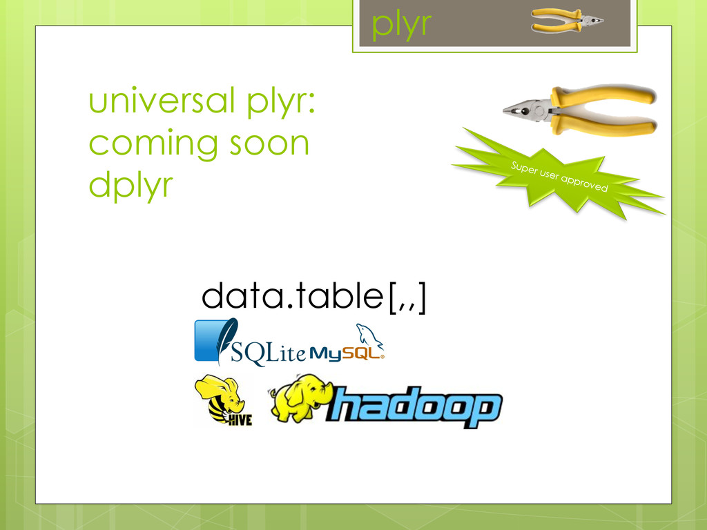 Super user approved plyr universal plyr: coming...