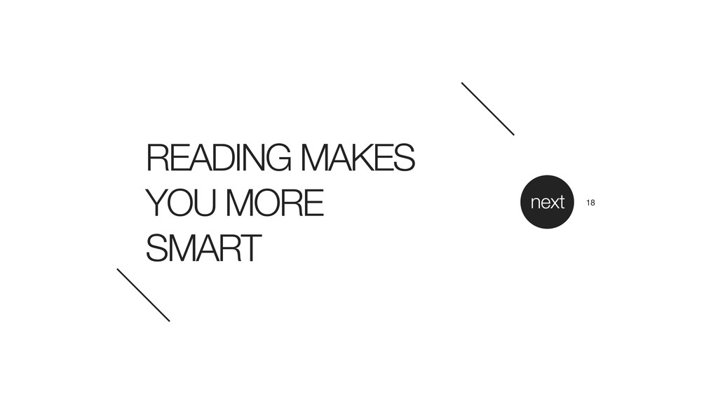 READING MAKES YOU MORE 