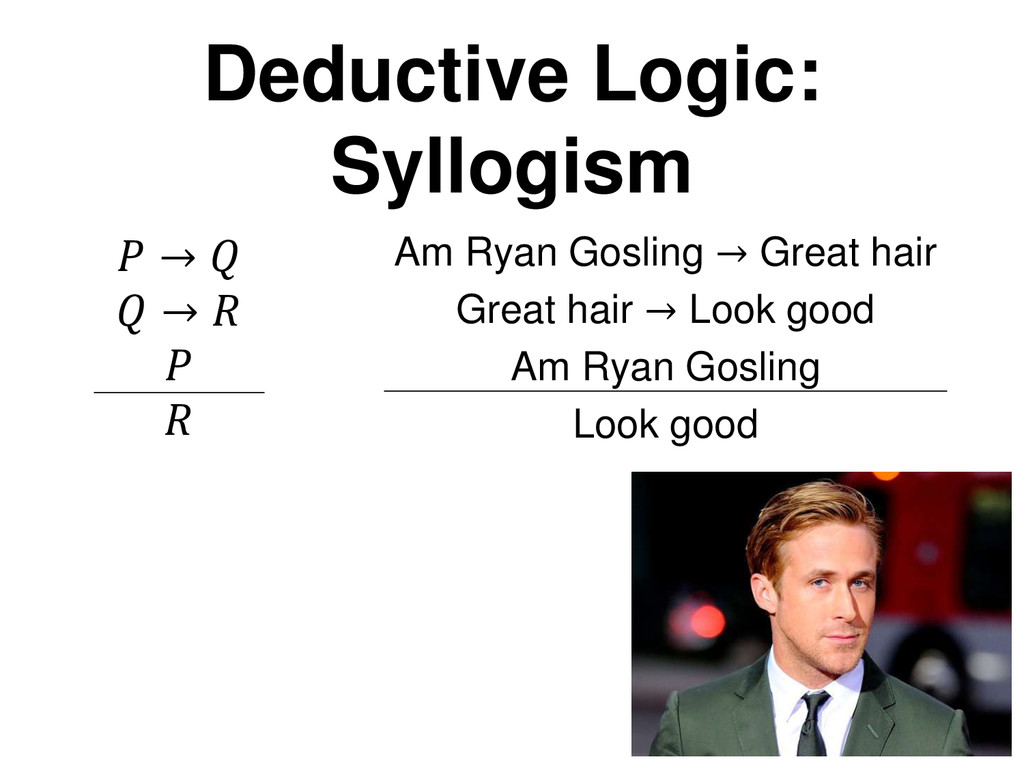 →   →    Am Ryan Gosling → Great hair Great ha...