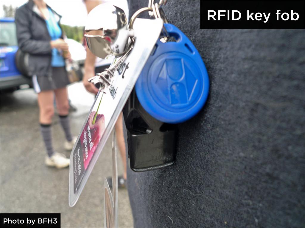RFID key fob Photo by BFH3