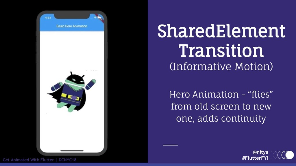 @nitya #FlutterFYI Get Animated With Flutter | ...