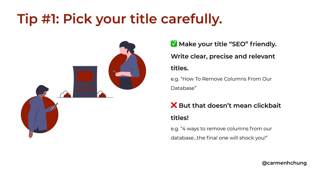 """✅ Make your title """"SEO"""" friendly. Write clear, ..."""
