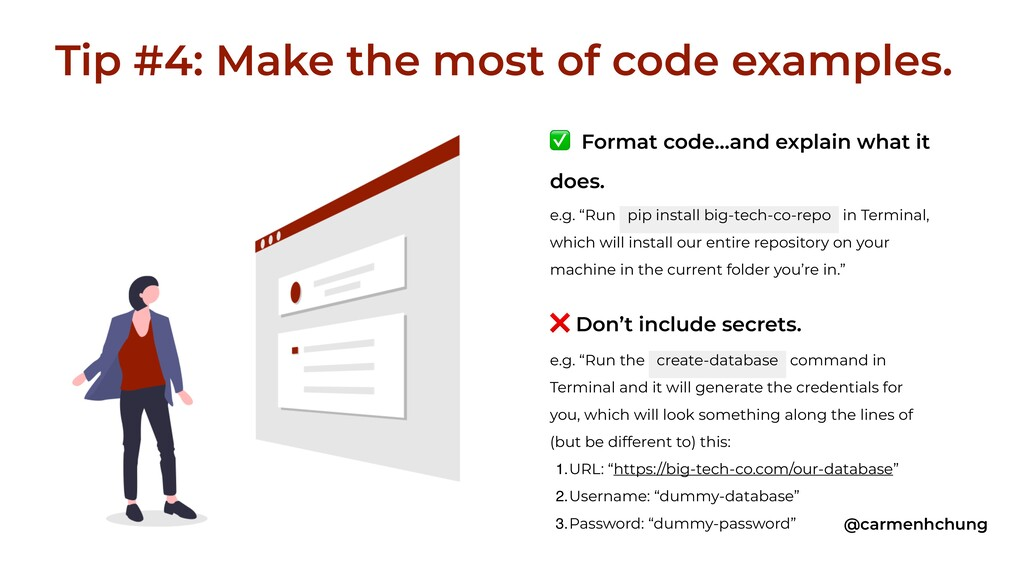 """✅ Format code…and explain what it does. e.g. """"R..."""