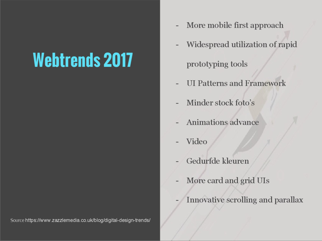 Webtrends 2017 - More mobile first approach - W...