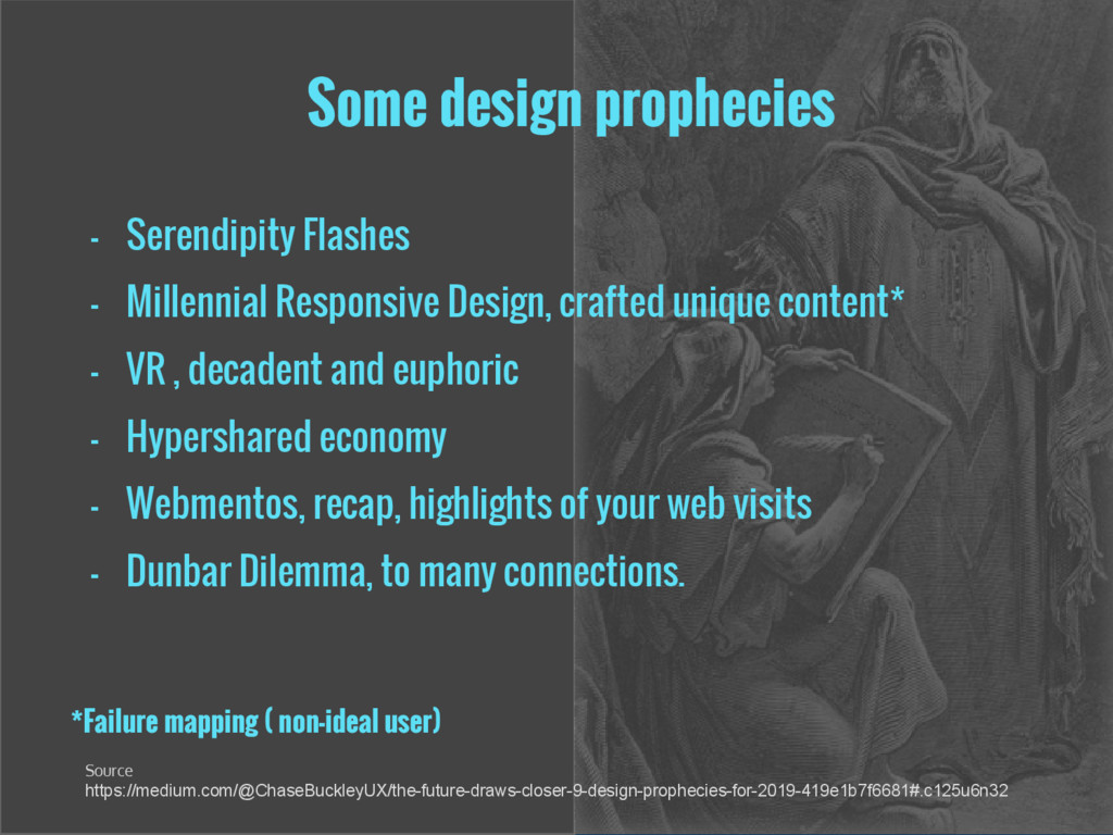 Some design prophecies - Serendipity Flashes - ...