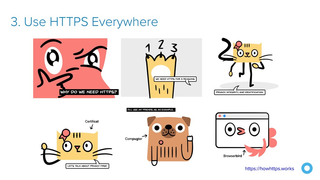 3. Use HTTPS Everywhere https://howhttps.works