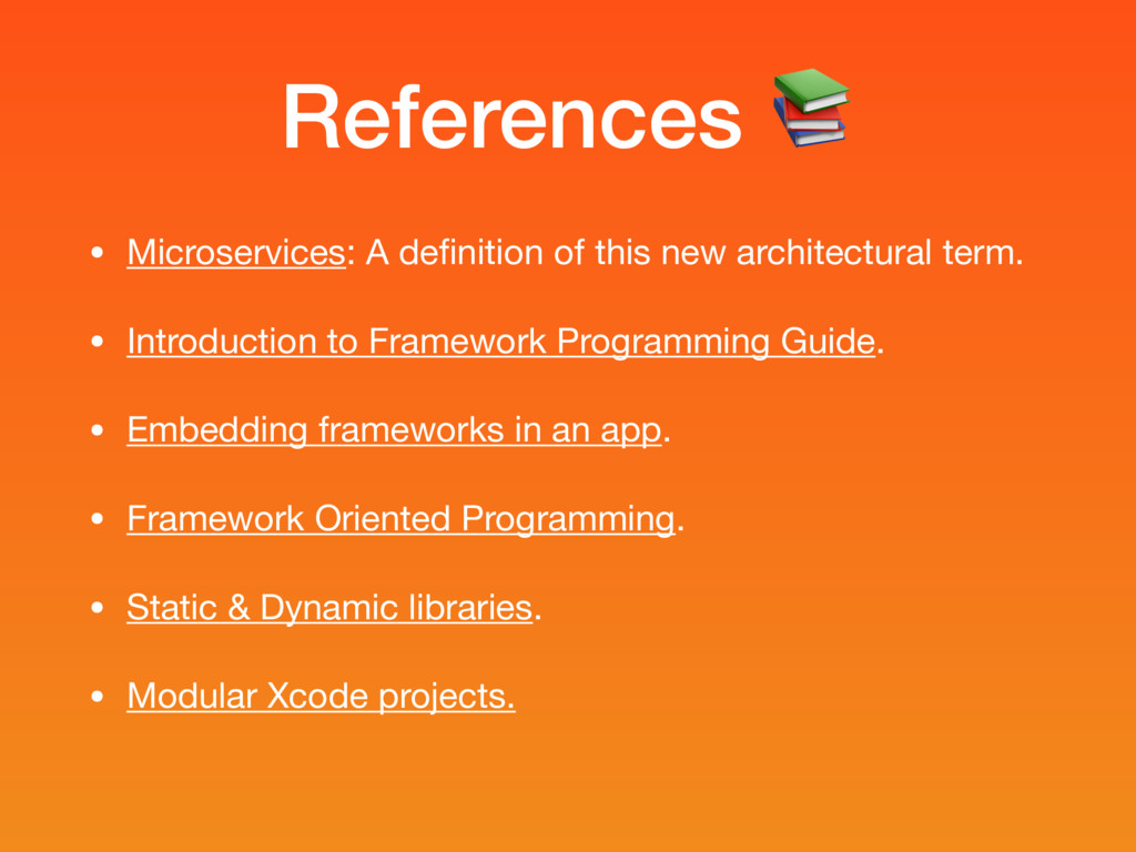 References  • Microservices: A definition of thi...