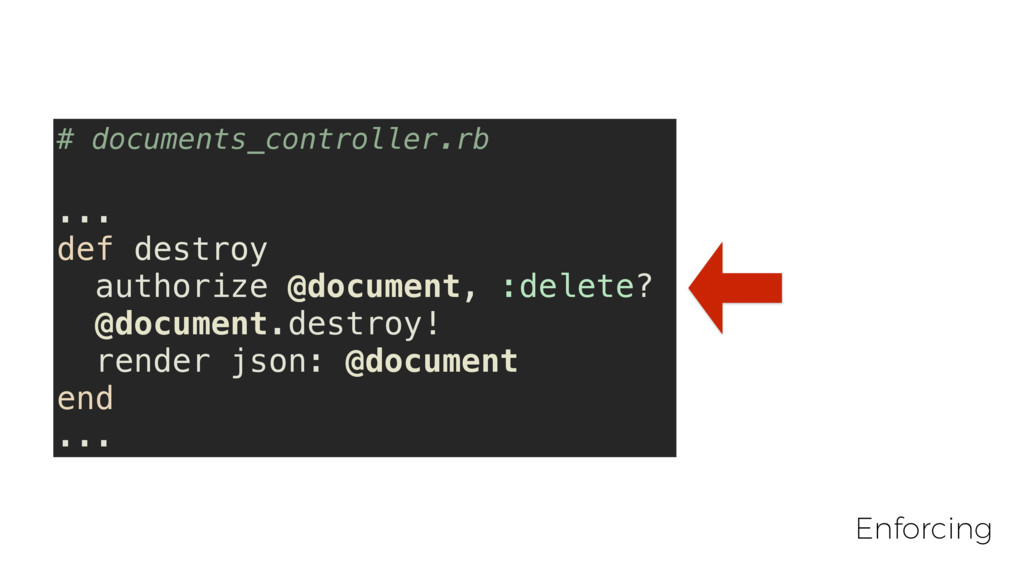 # documents_controller.rb ... def destroy autho...