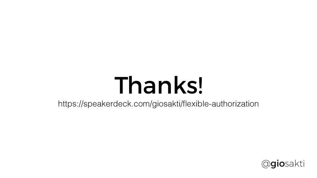 Thanks! @giosakti https://speakerdeck.com/giosa...