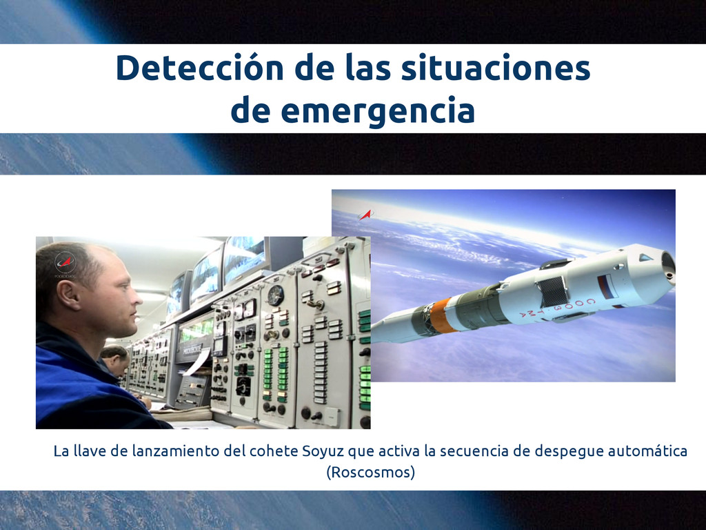 Detección de las situaciones de emergencia La l...