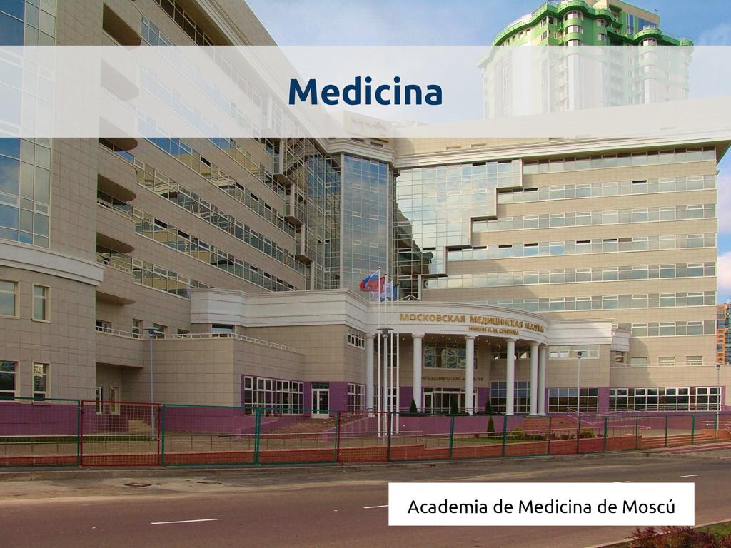 Medicina Academia de Medicina de Moscú