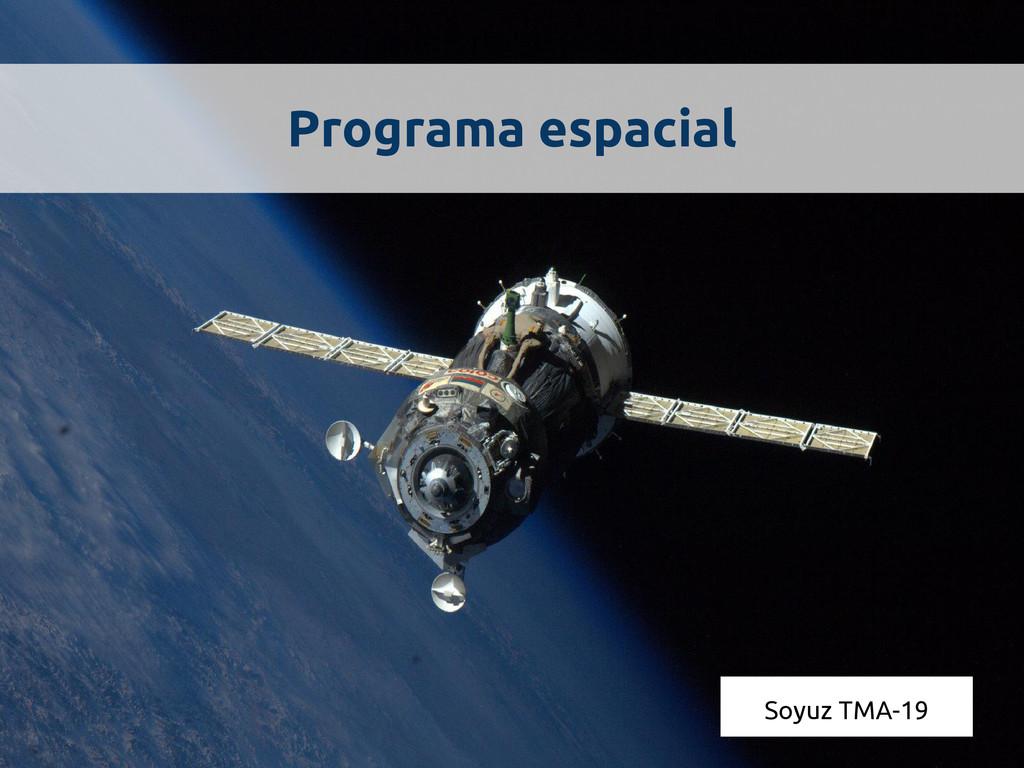 Programa espacial Soyuz TMA-19