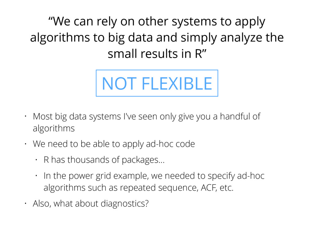 """""""We can rely on other systems to apply algorith..."""