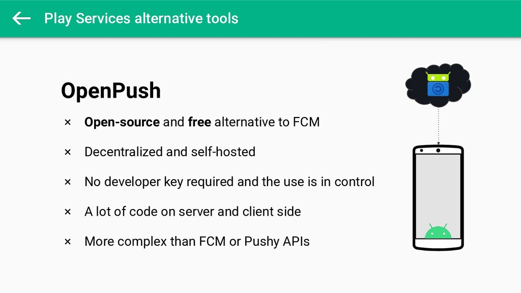 Play Services alternative tools × Open-source a...