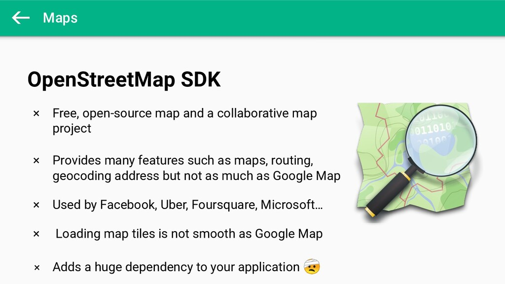 Maps × Free, open-source map and a collaborativ...