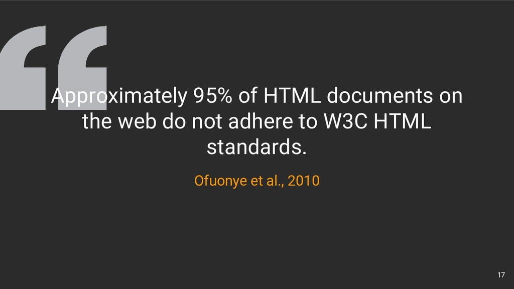 17 Ofuonye et al., 2010 Approximately 95% of HT...