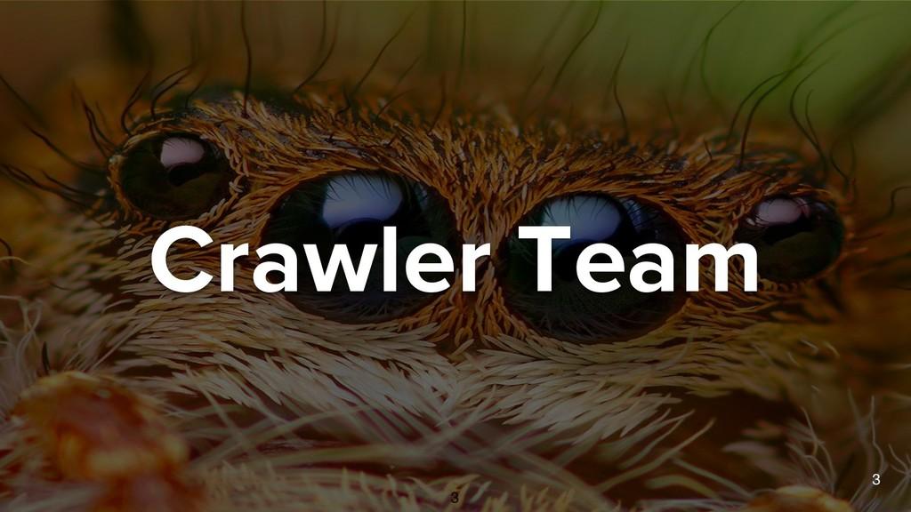 Crawler Team 3 3