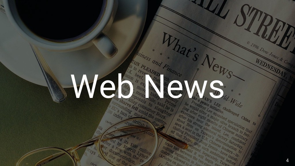 4 Web News