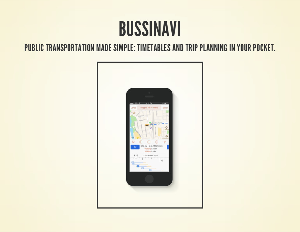 BUSSINAVI PUBLIC TRANSPORTATION MADE SIMPLE: TI...