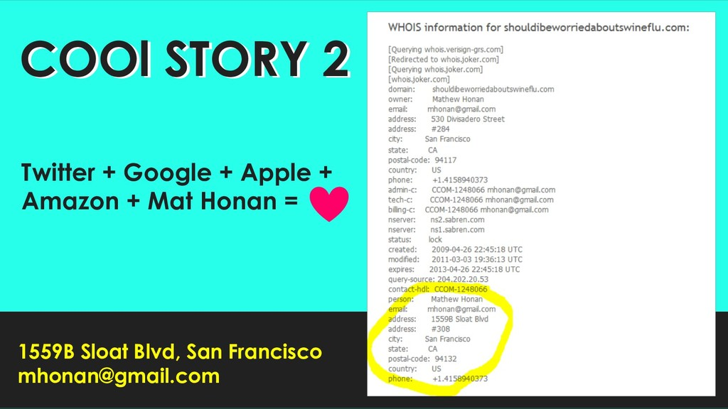 8 COOl STORY 2 COOl STORY 2 Twitter + Google + ...