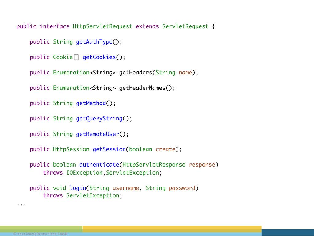 © 2012 innoQ Deutschland GmbH public interface ...