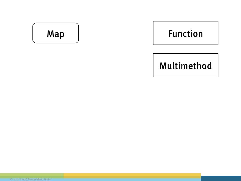 © 2012 innoQ Deutschland GmbH Map Function Mult...