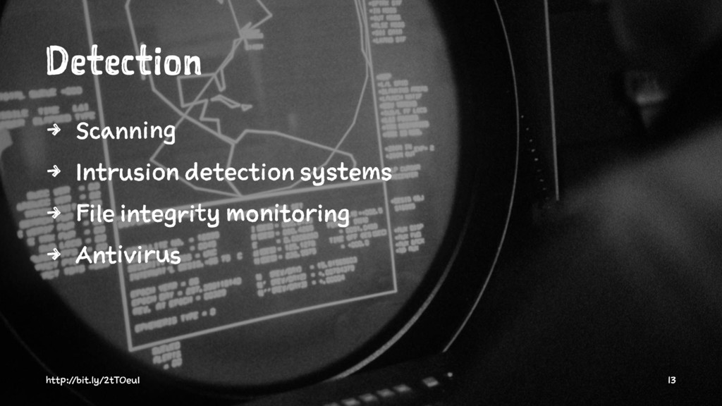 Detection 4 Scanning 4 Intrusion detection syst...